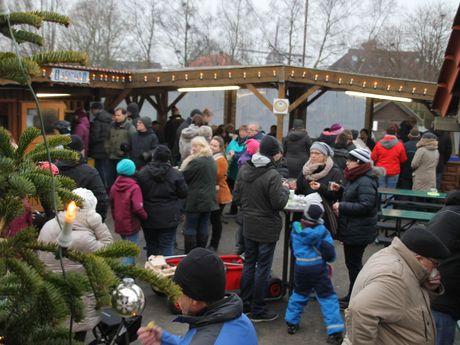 Winterfest im Haustierpark