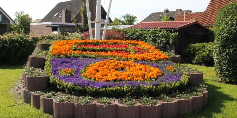 Das Werdumer Wappen aus Blumen