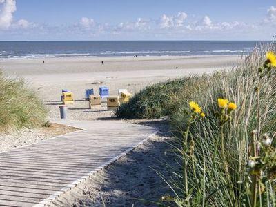 Blick auf den Langeooger Strand